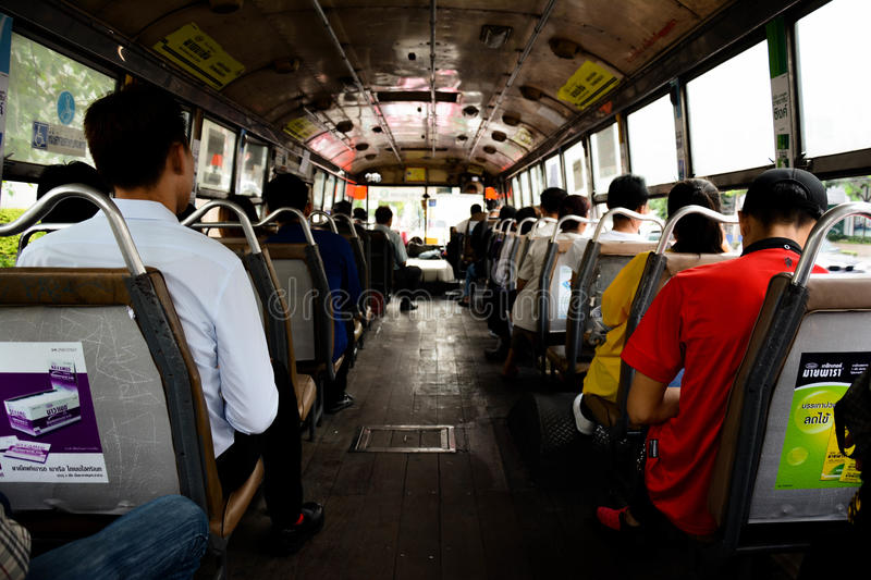 Thailand's bus royalty free stock photography