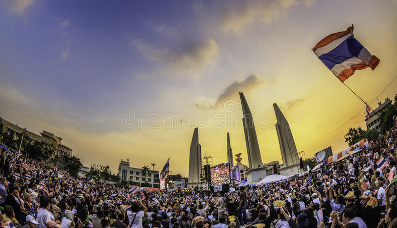 Download 210,000 Of Thailand's  Protest Editorial Image - Image: 35126740