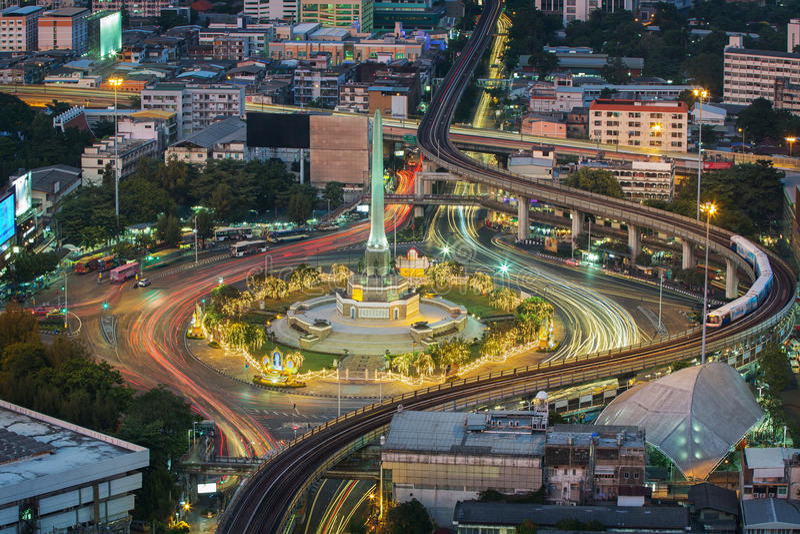Thailand-Siegmonument stockfotografie