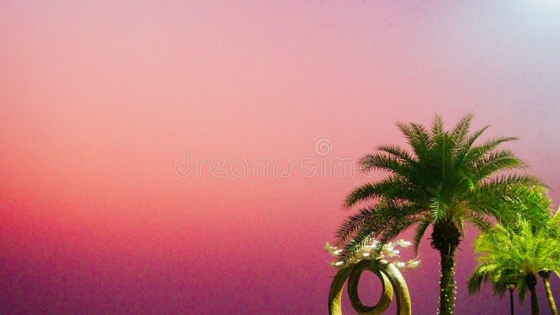 Thailand solnedgång royaltyfri fotografi