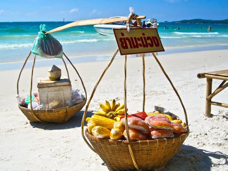 Thailand strandplats arkivfoton