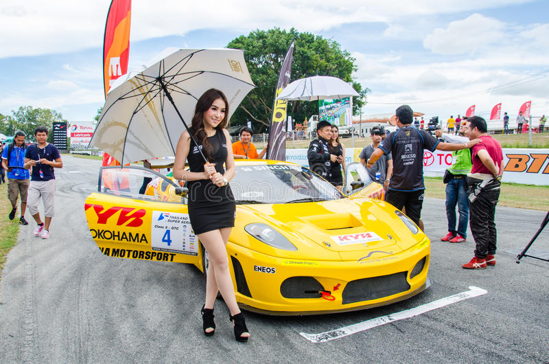 Thailand Super Series 2014 royalty free stock photo