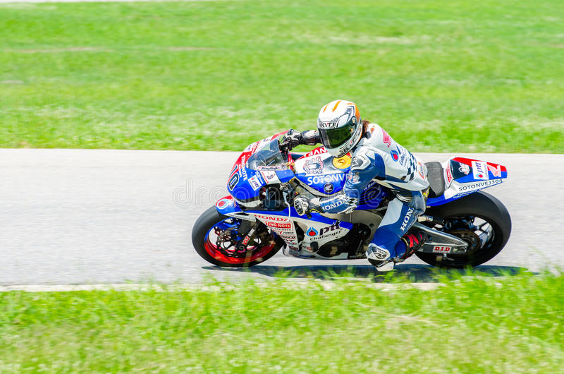 Thailand SuperBikes Championship 2015 Round 1 royalty free stock image