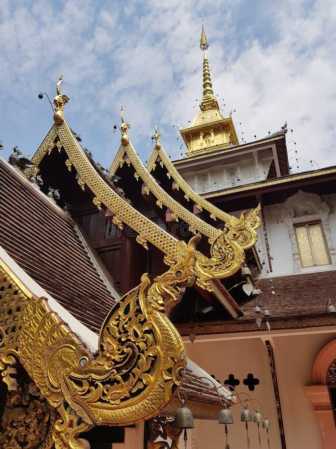 Thailand-Tempel am Norden stockfotografie