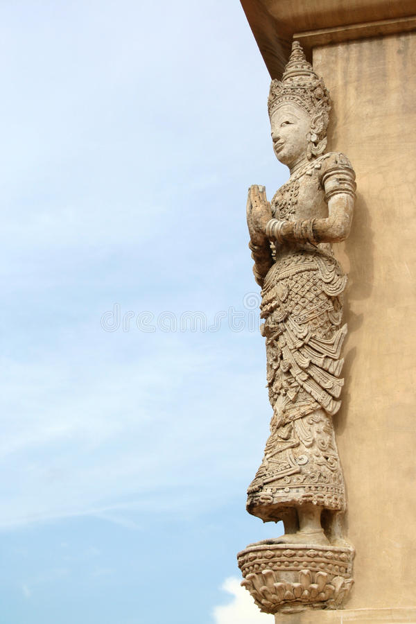 Thailand Temple Architecture royalty free stock images