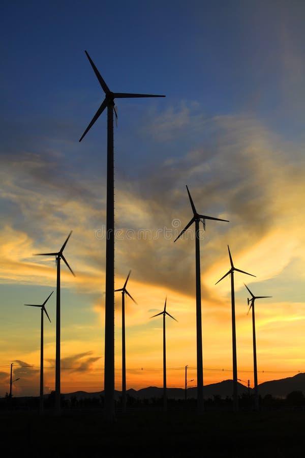 thailand turbina wiatr zdjęcie stock