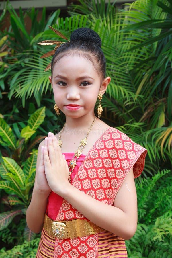 Thailand välkomnande royaltyfri fotografi