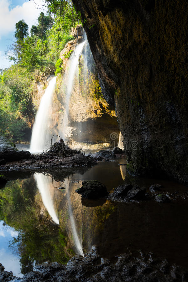 Thailand-Wasserfall stockfotografie
