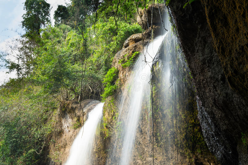 Thailand-Wasserfall stockfoto