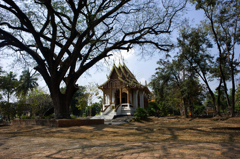 Thailand Wat Jed Yod in Chiang Mai. Thailand, The wat Jed Yod or seven Peaks in the city of Chiang Mai is a sort of copy of the Mahabodhi temple in India; View royalty free stock images