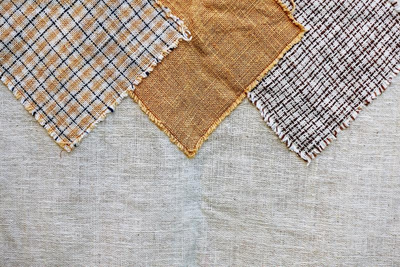 Thailande coton antique artisanat textile de créateur textile péruvien bande magnifique motif d'arrière-plan à la mode images libres de droits