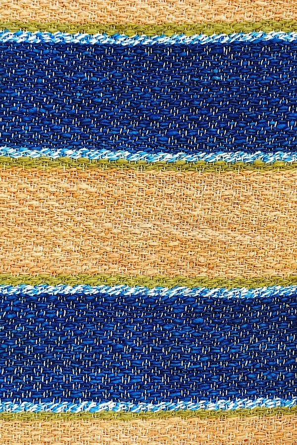 Thailande coton antique artisanat textile de créateur textile péruvien bande magnifique motif d'arrière-plan à la mode image stock