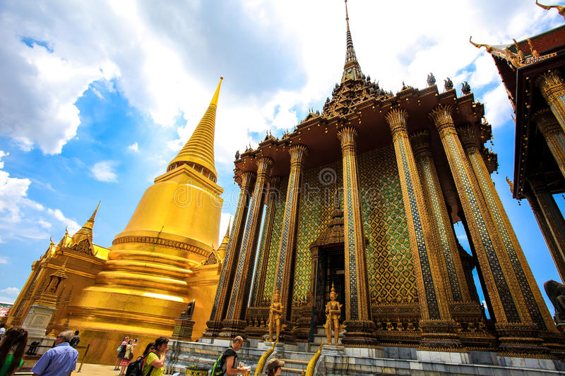 Thailands Grand Palace royalty free stock images
