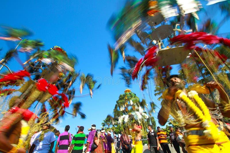 Thaipusam庆祝 免版税库存图片