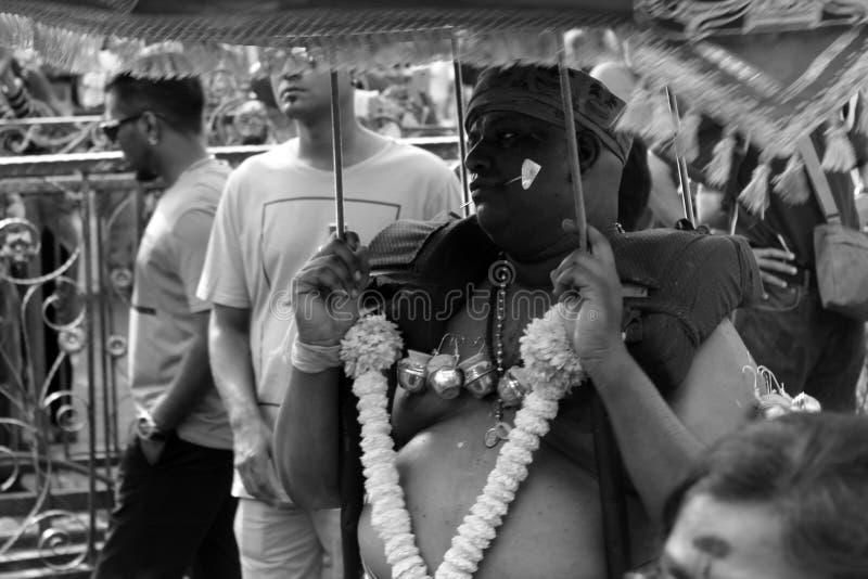 Thaipusam индийской культуры стоковое фото rf