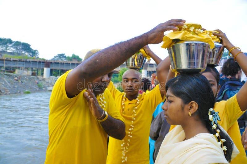 thaipusam 2009 royaltyfri fotografi