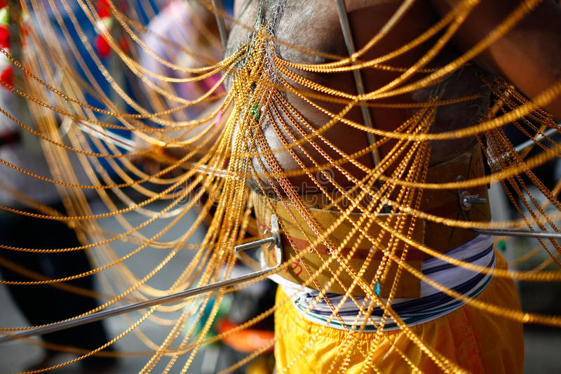 thaipusam royaltyfri bild