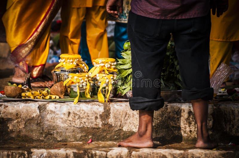 Thaipusam fotografie stock
