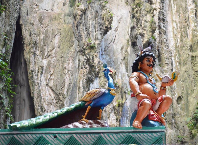 Thaipusam alle caverne di Batu, Kuala Lumpur fotografia stock libera da diritti