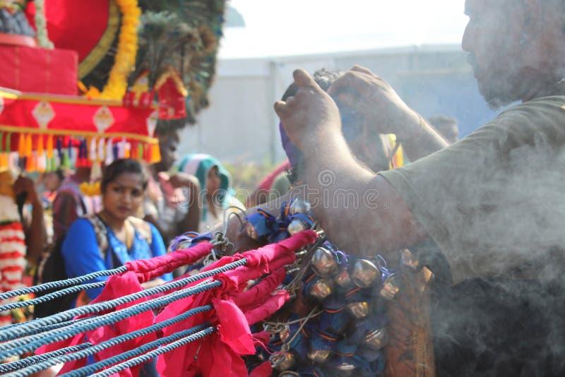 Thaipusam della cultura indiana fotografie stock libere da diritti