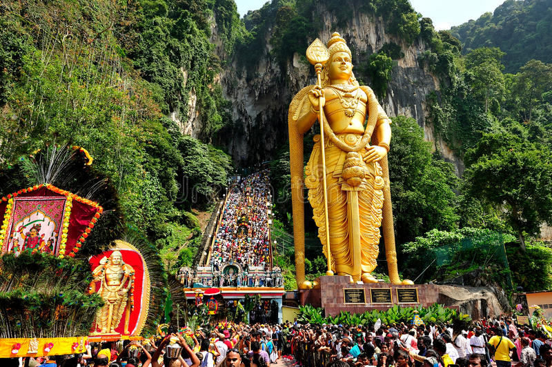 Thaipusam Festival royalty free stock images