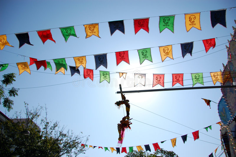 Download Thaipusam Flags Royalty Free Stock Photography - Image: 1881117