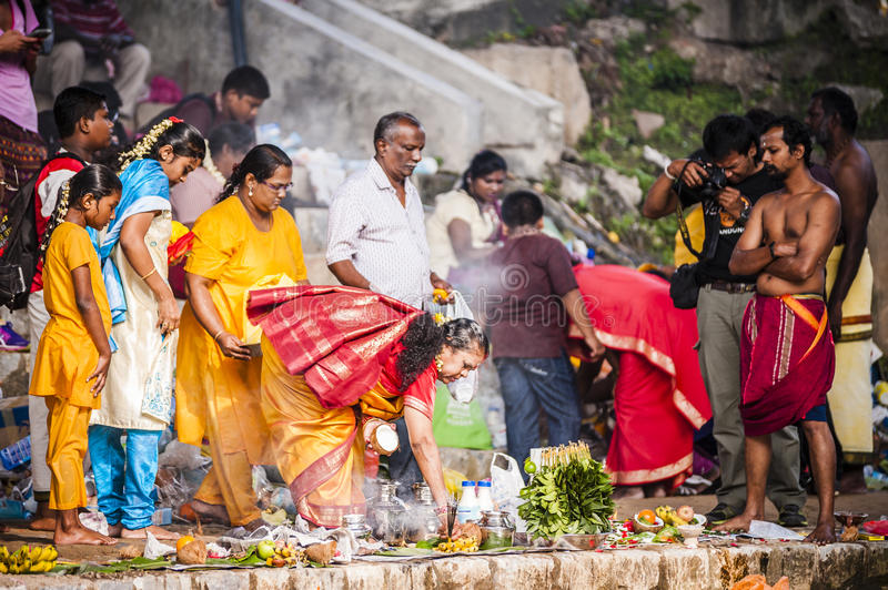 Download Thaipusam editorial photography. Image of tamil, india - 36895517