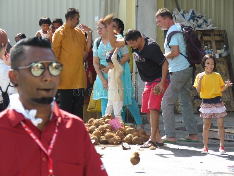 Thaipusam Penang Malesia immagine stock