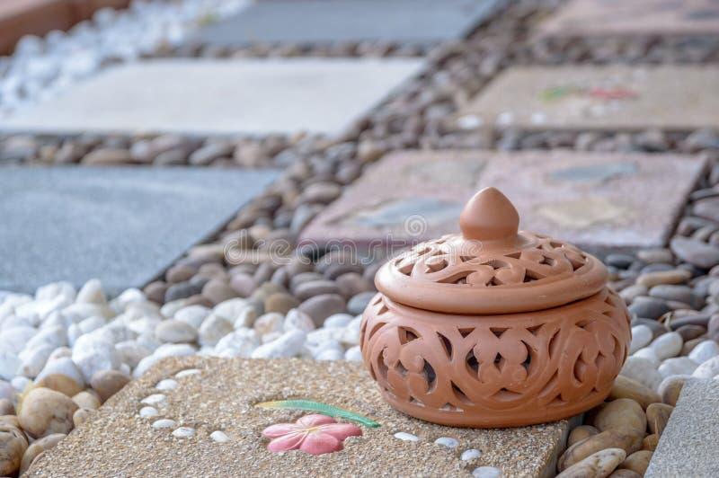 Thais aardewerk royalty-vrije stock afbeeldingen