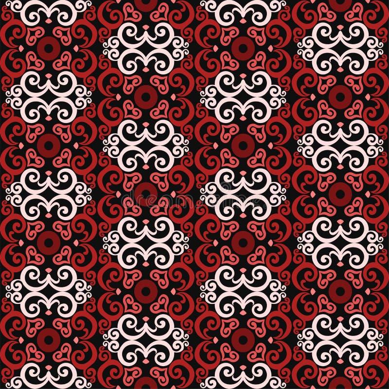 Thais Aziatisch traditioneel naadloos patroon vector illustratie