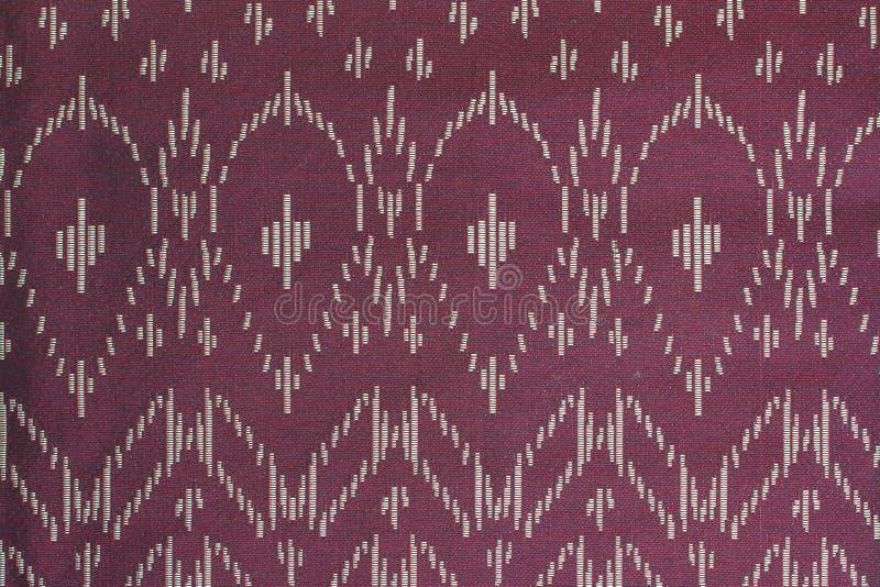 Thais de doekpatroon van de stijlzijde stock foto's