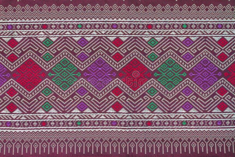 Thais de doekpatroon van de stijlzijde royalty-vrije stock foto