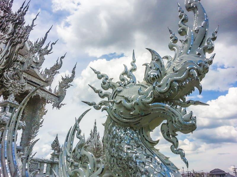 Thais godsdienstig beeldhouwwerk royalty-vrije stock foto