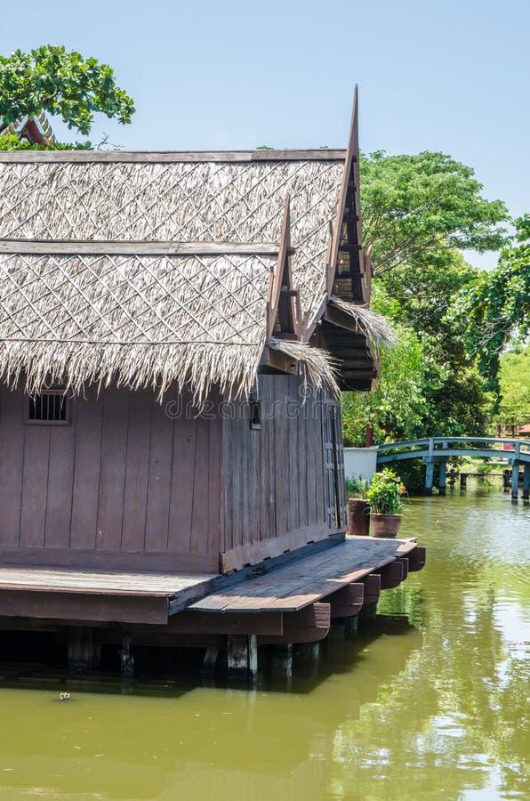 Thais huis royalty-vrije stock afbeeldingen