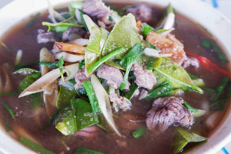 Thais kerrierundvlees royalty-vrije stock foto's
