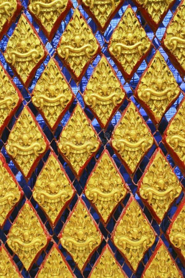 Thais kunstpatroon royalty-vrije stock afbeeldingen