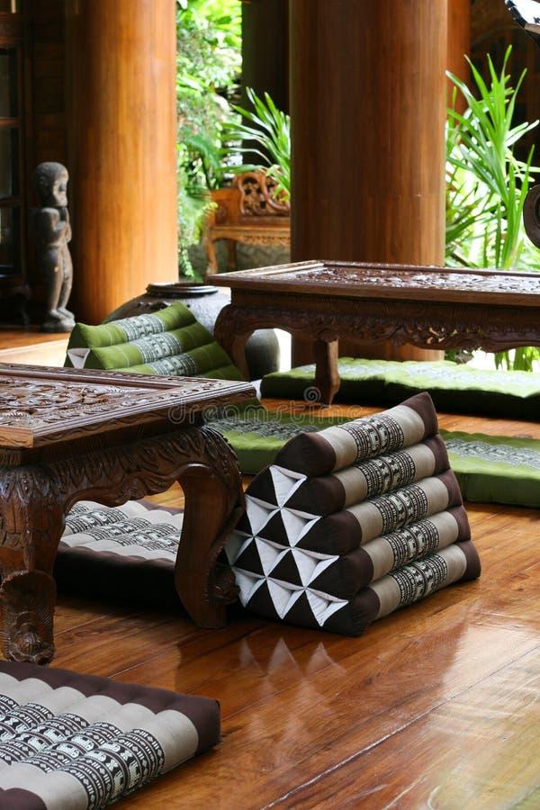 Thais meubilair royalty-vrije stock foto