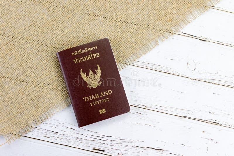 Thais Paspoort royalty-vrije stock foto's