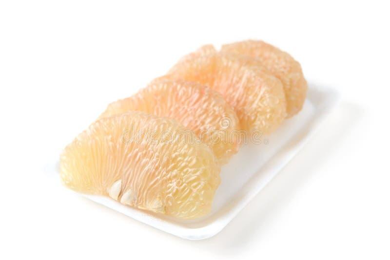 Thais pompelmoesfruit royalty-vrije stock afbeeldingen