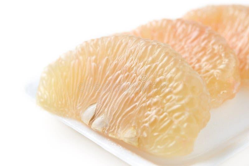 Thais pompelmoesfruit stock afbeelding