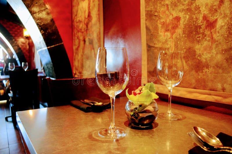 Thais restaurant royalty-vrije stock afbeeldingen