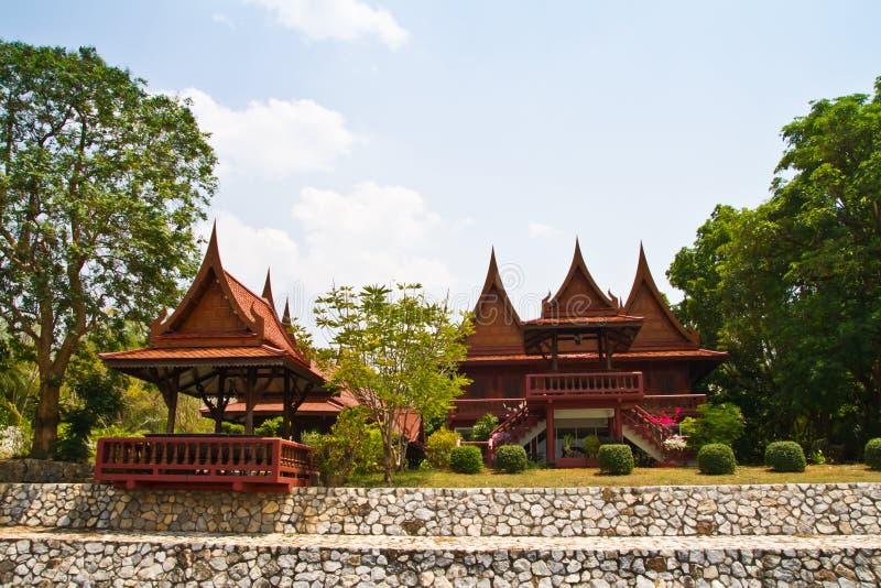 Thais stijlhuis royalty-vrije stock foto