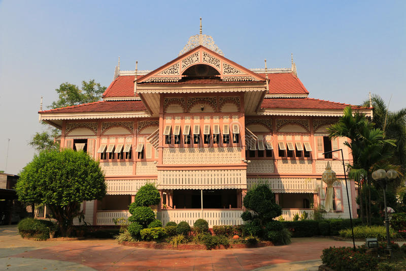 Download Thais stijlhuis stock foto. Afbeelding bestaande uit building - 39117574