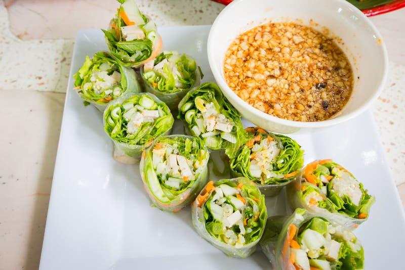Thais vers de Lentebroodje stock fotografie