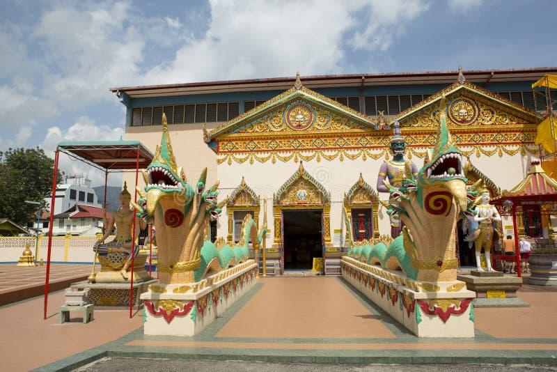 Thaise Boeddhistische Tempel royalty-vrije stock afbeeldingen
