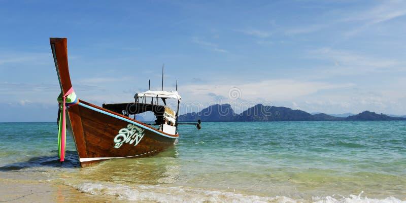 Thaise boot stock fotografie