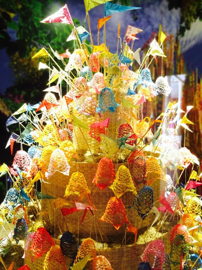 Thaise cultuur Namo stock foto's