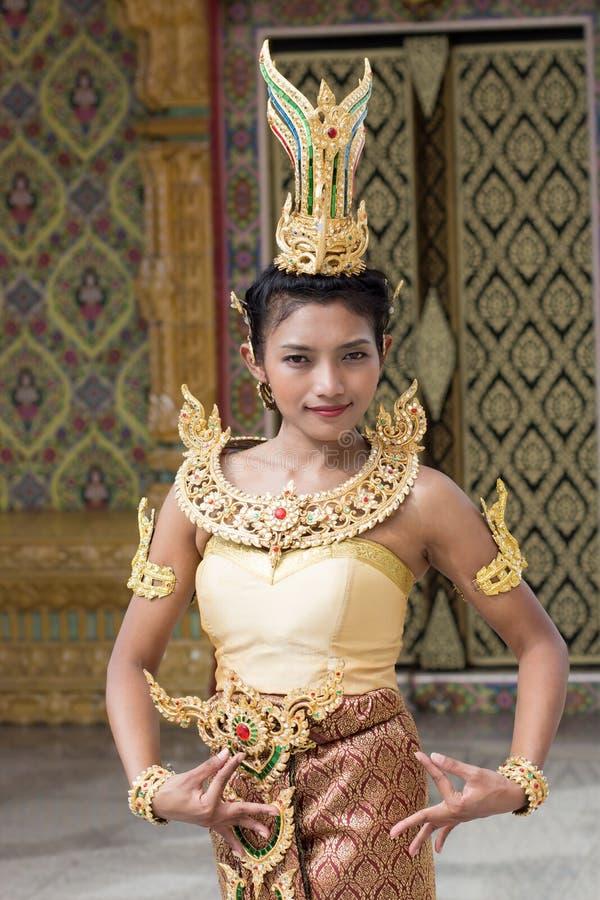 Thaise dame stock afbeeldingen