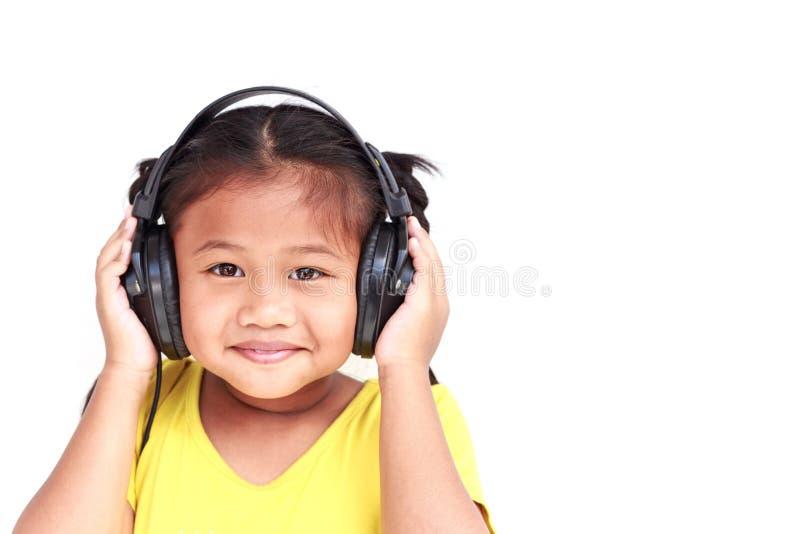 Thaise die kinderen op witte achtergrond worden geïsoleerd royalty-vrije stock afbeeldingen