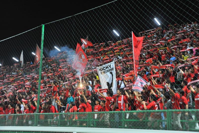 Thaise Eerste Liga 2011 stock afbeeldingen